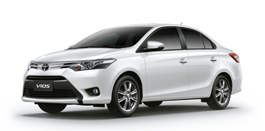 Toyota All New Vios Auto/White
