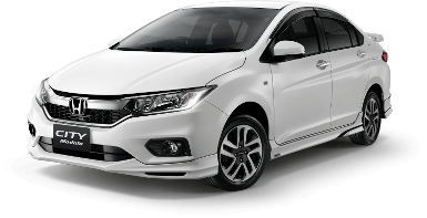 New Honda City Auto/White